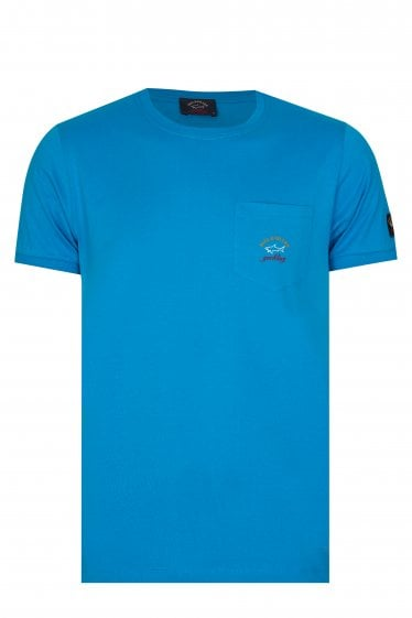 Paul & Shark Pocket T-Shirt Blue