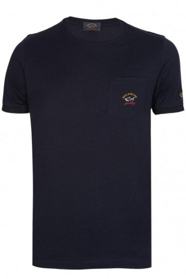 Paul & Shark Pocket T-Shirt Navy