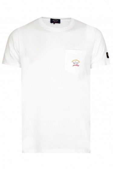 Paul & Shark Pocket T-Shirt White