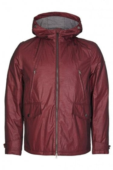 Paul & Shark Shark Fit Woven Jacket Burgundy
