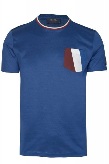 Paul & Shark Stripe Pocket T-shirt