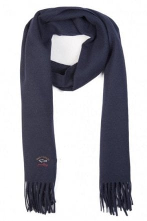 Paul & Shark Wool Scarf Navy