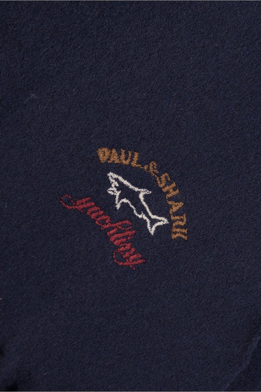 3aee51e019c23 Paul & Shark Wool Scarf Navy