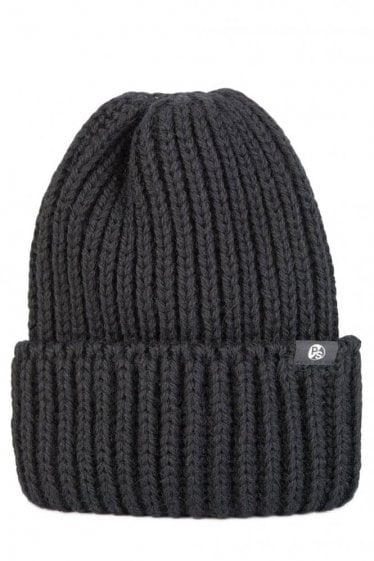 Paul Smith British Wool Knit Beanie Black