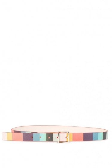Paul Smith Brown Stripe Belt