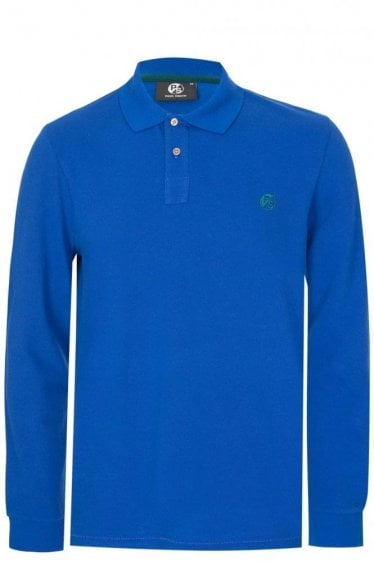 Paul Smith Chest Logo Polo Blue