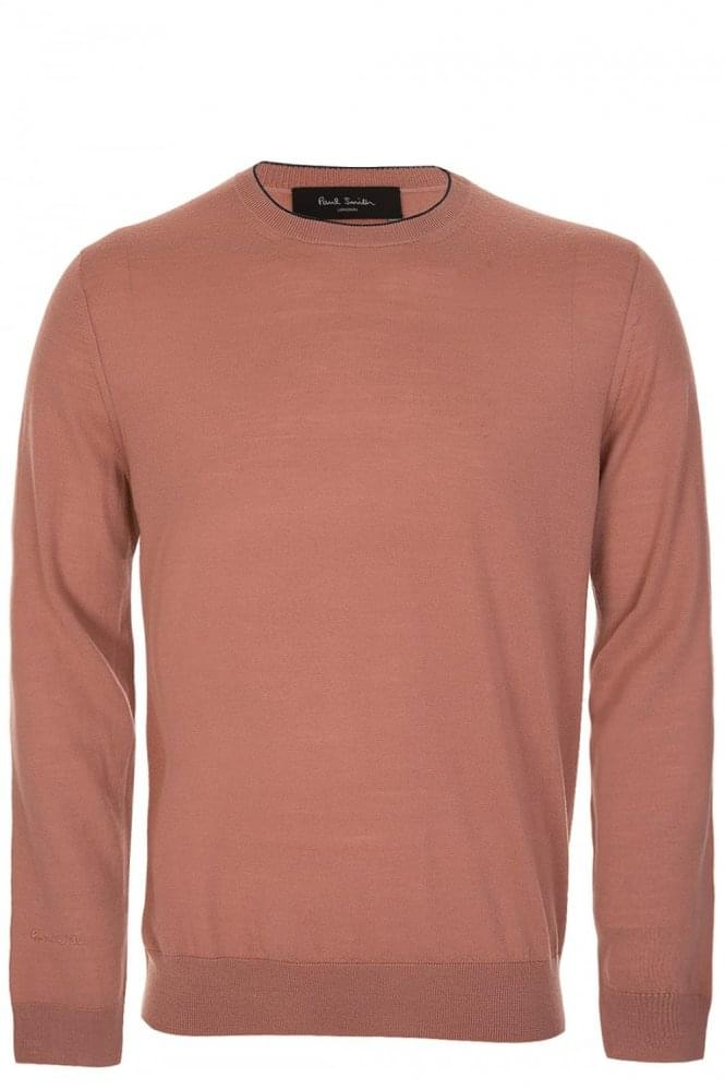 PAUL SMITH Contrast Trim Knitted Jumper