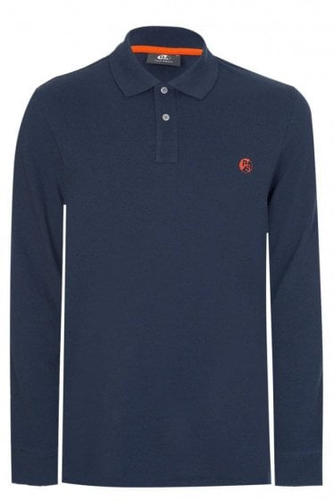 Paul Smith Cotton Chest Logo Polo Navy