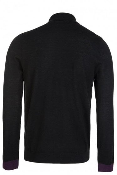 Paul Smith Crew Neck Contrast Trim Jumper