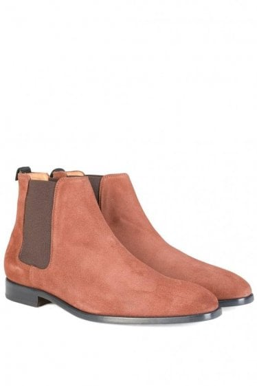 Paul Smith Gerald Snuff Suede Chelsea Boots