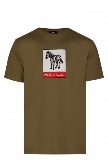 437ecee20f7a Size. M · Paul Smith Graphic Zebra T-shirt
