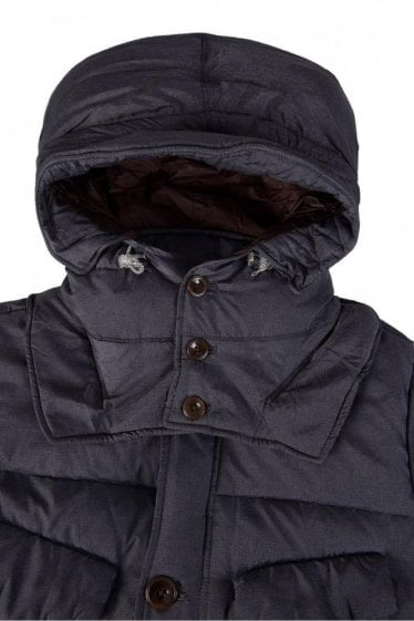 Paul Smith Grey Padded Lightweight Jacket
