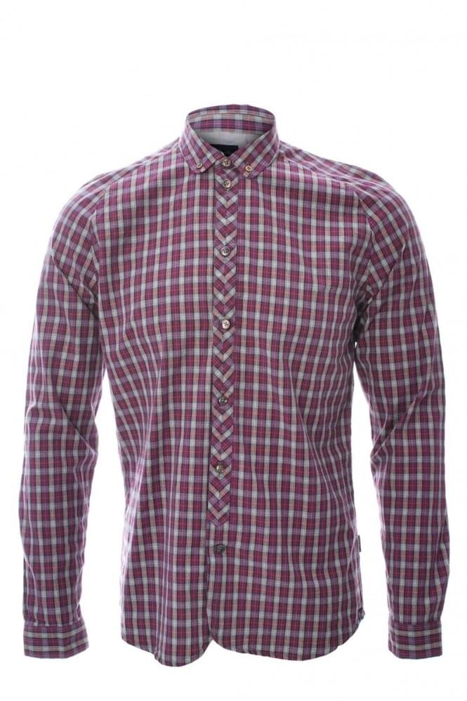 PAUL SMITH Jeans Tailored Check Shirt
