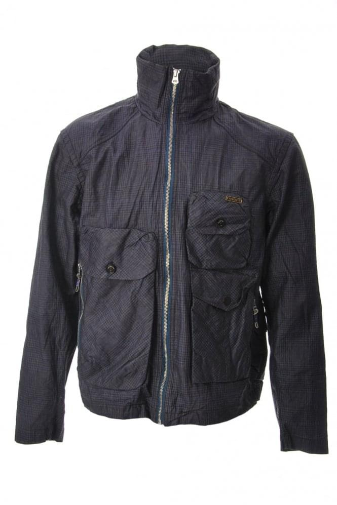 Paul Smith Jeans Tartan Linen Jacket