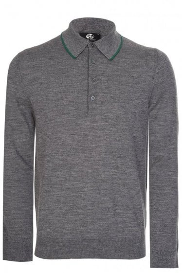 Paul Smith Knitted Pullover Grey