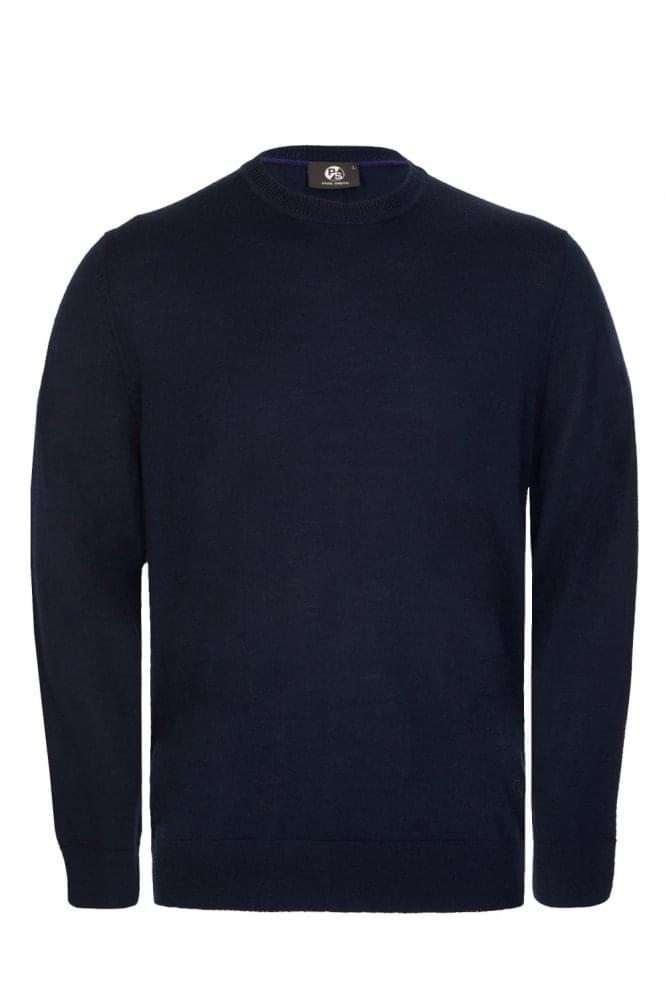 PAUL SMITH Knitted Pullover Navy