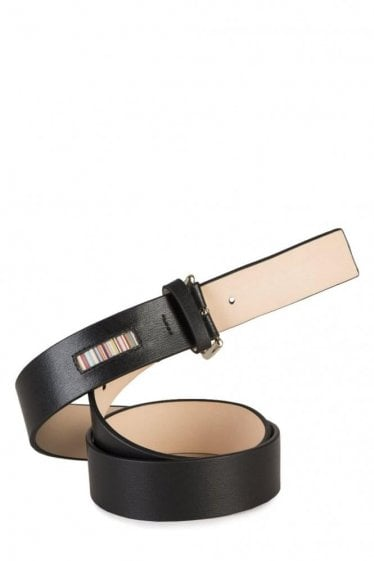 Paul Smith Leather Belt Black