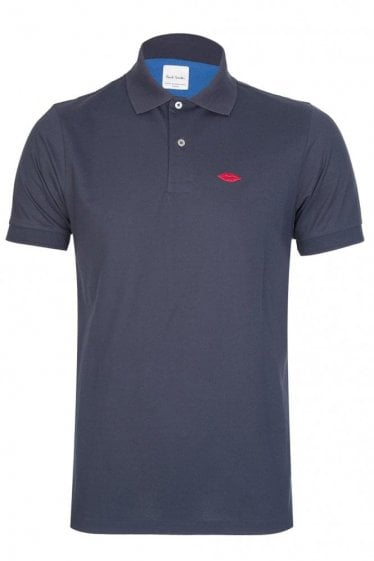 Paul Smith Lips Polo Navy