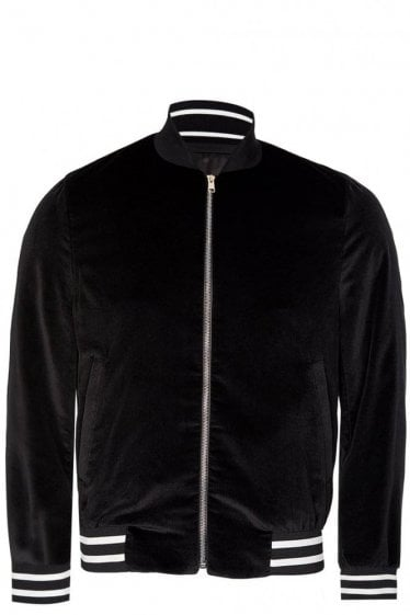 Paul Smith London Velvet Bomber Jacket