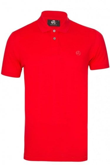 Paul Smith Mesh Chest Logo Polo