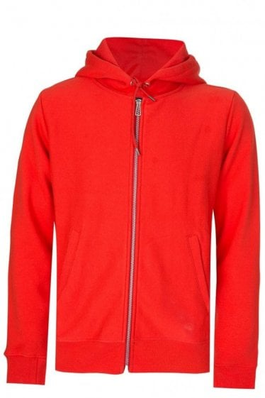 Paul Smith P.S Hooded Sweatshirt Orange