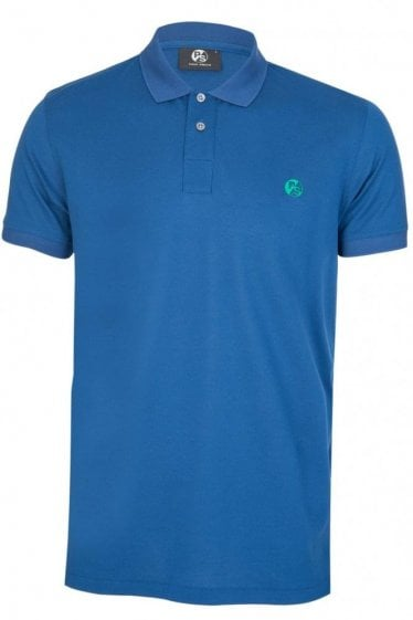 Paul Smith P.S Mesh Polo Blue