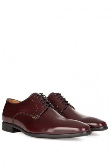 Paul Smith P.S Moore High Shine Shoes Burgundy