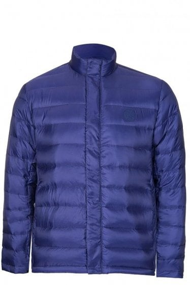 Paul Smith P.S Quilted Jacket Blue