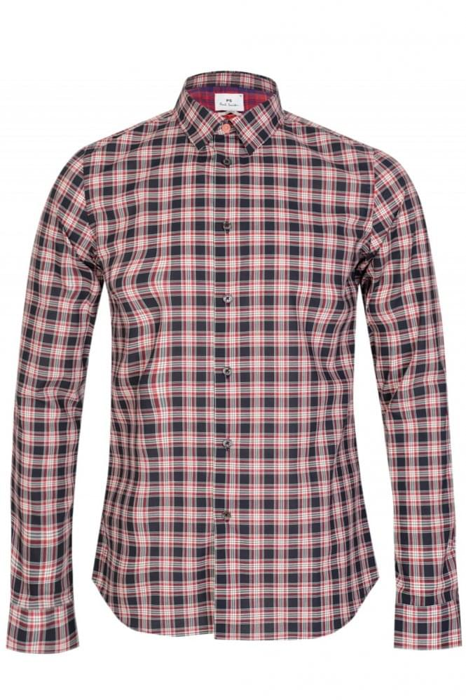 PAUL SMITH P.S Slim Fit Checked Shirt