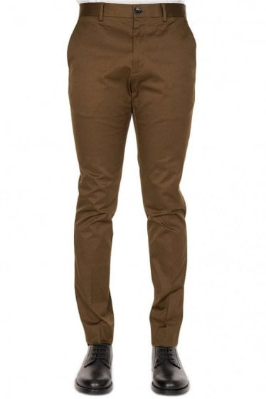 Paul Smith P.S Slim Tapered Chinos Khaki