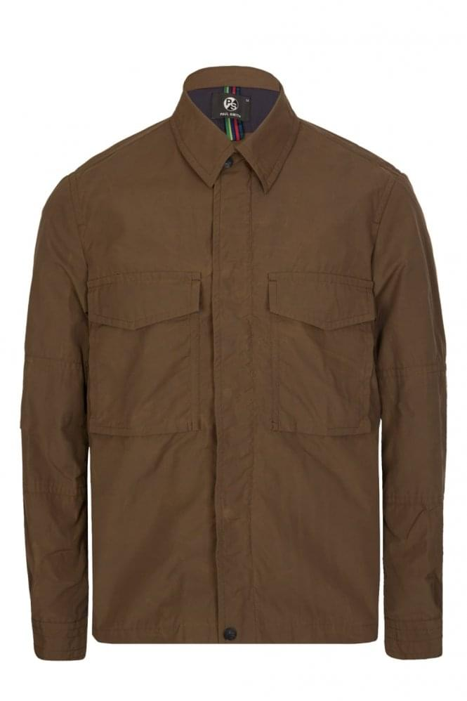 PAUL SMITH Patch Pockets Jacket Khaki