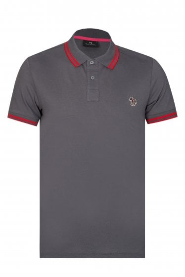 Paul Smith Piqué Zebra Logo Polo Shirt