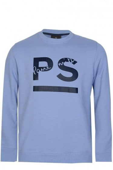 Paul Smith PS Logo Sweatshirt Blue