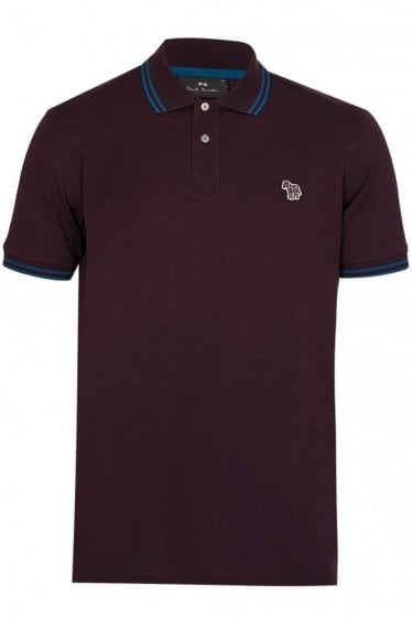 Paul Smith PS Polo Burgundy