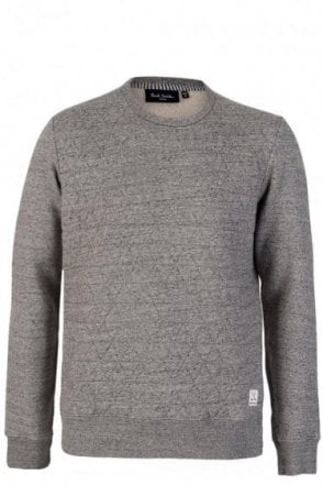 Paul Smith Quilted Grey Sweatshirt