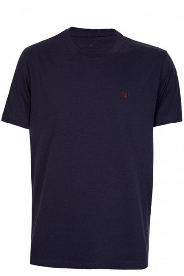 Paul Smith 'Red Ear' Logo Tshirt Purple