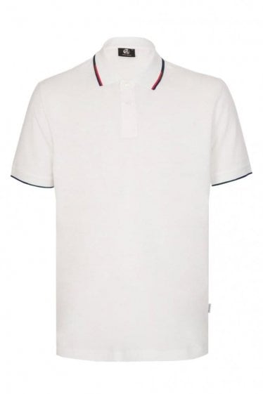 Paul Smith Regular Fit Trimmed Polo White