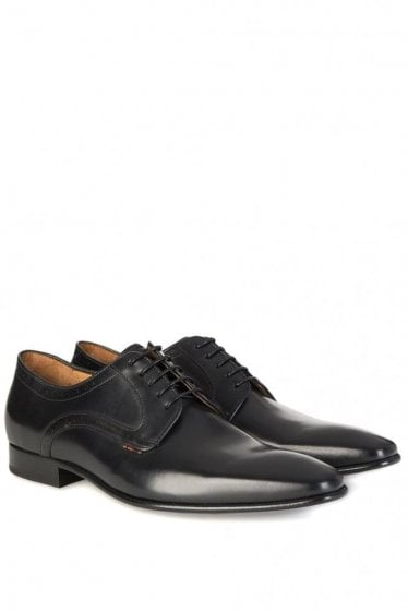 Paul Smith 'Robin' Leather Derby Shoes Black