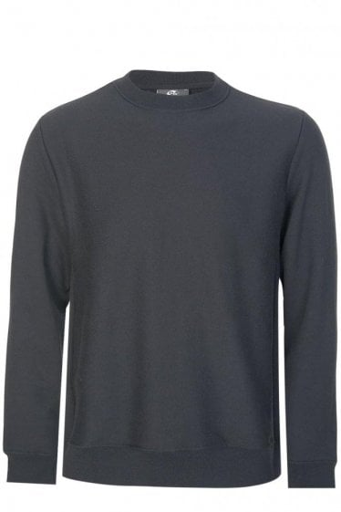 Paul Smith Side Panel Cotton Sweatshirt Black