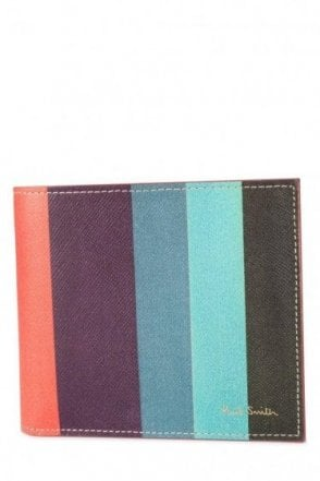 Paul Smith Signature Stripe Coin Wallet