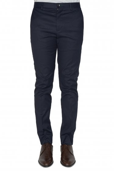 Paul Smith Slim Fit Cotton Trousers