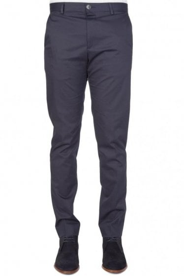 Paul Smith Slim Fit Stretch Chinos Navy
