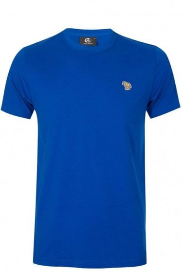 Paul Smith Slim Fit Zebra T-shirt Blue