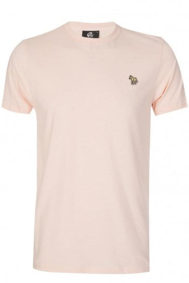 Paul Smith Slim Fit Zebra T-shirt Peach