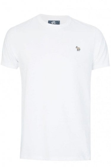 Paul Smith Slim Fit Zebra T-shirt White