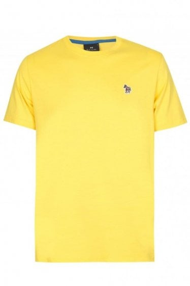 Paul Smith Slim Fit Zebra T-shirt Yellow