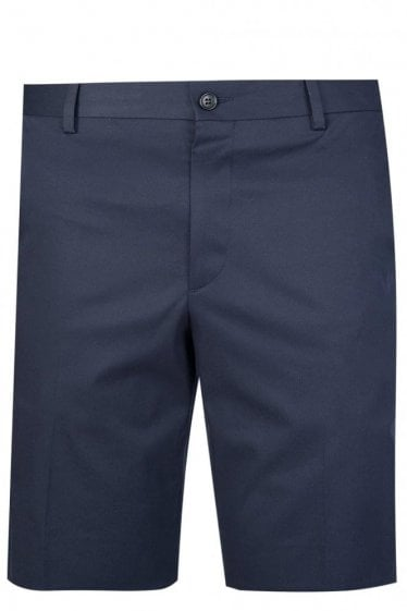 Paul Smith Smart Slim Stretch Shorts Navy