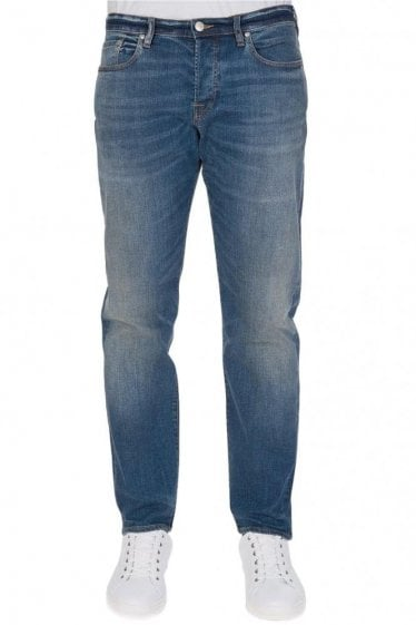 Paul Smith Tapered 5 Pocket Jeans Blue