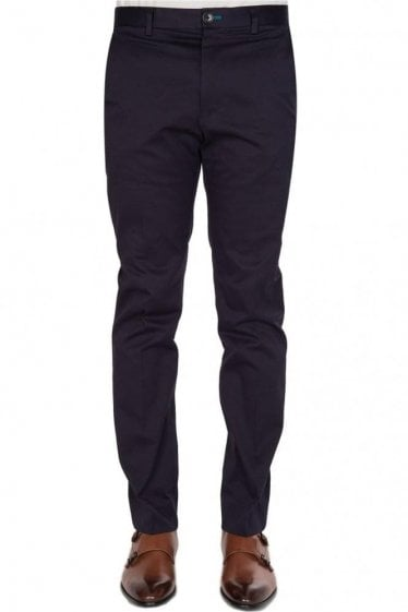 Paul Smith Tapered Slant Pocket Chinos Navy