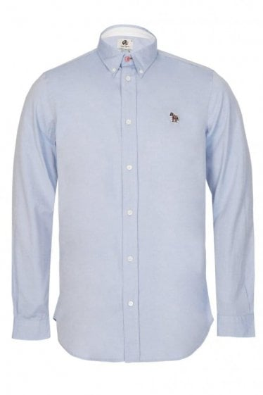 Paul Smith Zebra Oxford Shirt Blue